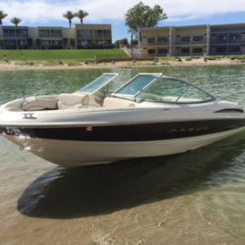 New Maxum 19 foot RunAbout
