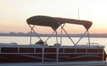 South Bay Tritoon Pontoon Boat