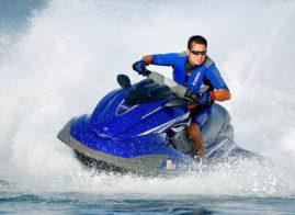 Yamaha Blue Jet Ski