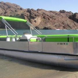 Hoopdea Pontoon Boat